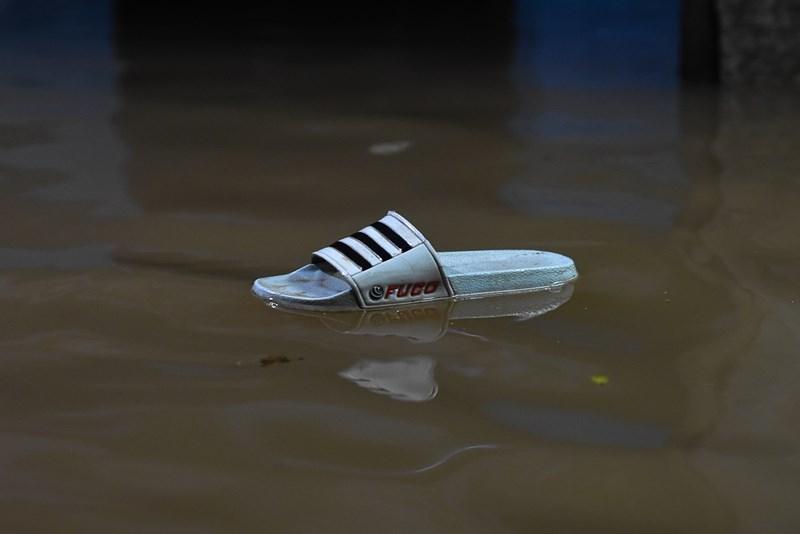 ngập lụt ở quảng trị