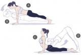5 động tác yoga căng duỗi giúp sáng thứ hai bớt uể oải