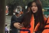 Cô gái Hàn Quốc xinh xắn gây