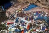 Bắt quả tang đối tượng đổ trộm hàng chục tấn rác thải ra môi trường