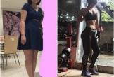 Ba tháng kiên trì giảm 12 kg của cô gái Sài Gòn