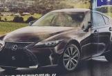 Lexus IS 2021 lộ diện bản thiết kế