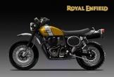 Hình ảnh dự kiến của Royal Enfield Scrambler 650 Sport và Classic