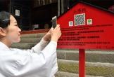 Đền Nhật Bản nhận tiền công đức điện tử từ khách