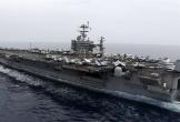 Tàu sân bay Mỹ bất ngờ trở lại vị trí không kích Syria