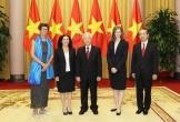 Tổng Bí thư, Chủ tịch nước Nguyễn Phú Trọng tiếp Đại sứ trình Quốc thư