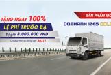 Tặng 100% lệ phí trước bạ sản phẩm xe tải Đô Thành IZ65 Gold tại Dũng Lạc Auto