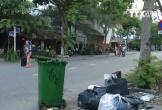 Rác thải, cỏ dại mọc tràn xuống đường tại khu 'Phố Tây' Đà Nẵng