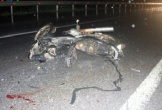 Ô tô gây tai nạn trong mưa khiến 3 người nhập viện