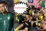 Cầu thủ Malaysia giả vờ gặp ác mộng để chế giễu thủ môn Thái Lan