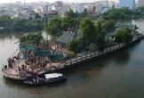 Ngôi miếu giữa sông ở Sài Gòn tấp nập người viếng đầu năm