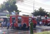 Kho chứa xe máy bị cháy rụi ngày Tết