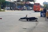 Sau va chạm với xe khách, 3 thanh niên đuổi chém tài xế