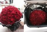 Bó hoa tặng vợ phải dỡ ghế ôtô mới vừa của anh chồng Hà Nội