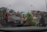 Đề nghị xử lý nữ tài xế quay đầu ôtô trên cầu, gây gổ người đi xe máy
