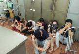 Đột kích quán karaoke, phát hiện nhiều thanh niên sử dụng ma túy