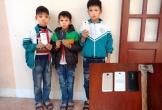 Nhóm trộm manh động phá tường lấy điện thoại chỉ là 3 đứa trẻ