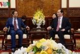 Chủ tịch nước Trần Đại Quang tiếp Đại sứ UAE chào từ biệt