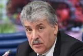 Ứng viên Đảng Cộng sản Nga tuyên bố giữ lời hứa cạo ria mép khi không đủ phiếu bầu