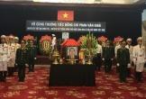 Hôm nay, bắt đầu Quốc tang nguyên Thủ tướng Phan Văn Khải
