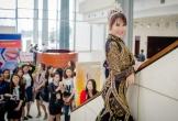 Phi Thanh Vân diện váy xuyên thấu nội y dự event ở Hà Nội