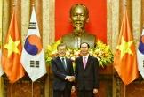 Chủ tịch nước chủ trì lễ đón chính thức Tổng thống Hàn Quốc