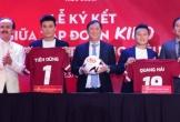 Tiến Dũng, Quang Hải nhận hợp đồng đại sứ thương hiệu hàng chục tỷ
