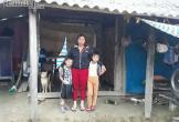Thảm cảnh người mẹ đơn thân nuôi hai con thơ dại trong bệnh tật, đói nghèo