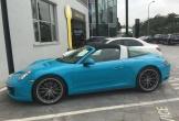 Porsche 911 Targa xanh Lemans độc nhất Việt Nam, giá gần 9 tỷ đồng