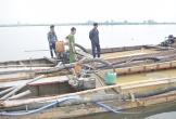 TT-Huế: Bắt giữ hai thuyền khai thác cát trái phép trên sông Hương