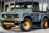 Land Rover sắp tung bán tải cạnh tranh Mercedes X-class