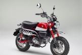 Honda Monkey 2018 được thiết kế trên nền tảng của MSX 125