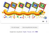Google tung Doodle Giỗ Tổ Hùng Vương trên trang chủ khiến người dùng thích thú