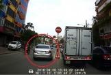 Hà Nội: Xe sang Mercedes ngang nhiên đi ngược chiều… cho nhanh