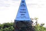 Dỡ bỏ bia núi tên Trung Quốc trên đất Lâm Đồng