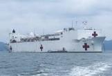 Tàu bệnh viện lớn nhất thế giới của Hải quân Mỹ ở Nha Trang