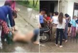 Nhắn tin thách thức vợ nhân tình, bồ nhí bị lột đồ bắt quỳ giữa đường