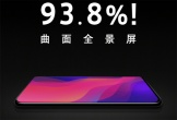 Oppo khoe smartphone với màn hình chiếm 93,8% mặt trước