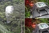 Vật thể lạ rơi xuống rừng Hà Giang không phải thiết bị dự báo thời tiết