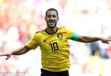 Hazard và Lukaku thay nhau lập cú đúp, Bỉ vùi dập Tunisia