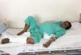 Vợ sắp sinh, chồng vẫn đau đớn liệt giường