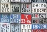 Bộ GTVT cân nhắc phân loại màu biển số xe ô tô