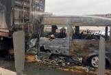 Hai người chết khi ôtô tông xe đầu kéo trên cao tốc Long Thành