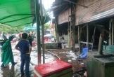 Hà Nội: Cháy quán bia giữa trời mưa, một người tử vong