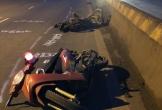 Ô tô bán tải tông liên tiếp 3 xe máy, 2 người tử vong