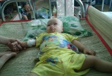 Xót xa bé trai bị tim bẩm sinh nay lại mắc ung thư máu