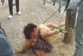 Thiếu niên 16 tuổi bị trói trước công viên do nghi trộm tiền