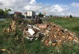 Bố Trạch - Quảng Bình: Nhếch nhác rác thải, phế liệu xây dựng dọc QL1A