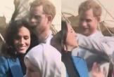 Harry 'đốn tim' fan vì hành động vuốt tóc cho vợ