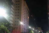 Cháy trong cao ốc ở Sài Gòn